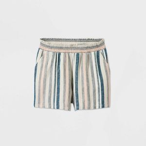 NWT 4x Universal Thread multi color Linen Shorts
